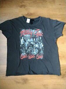 And Finally Motley Crue Girls Girls Girls Distressed T-Shirt size 10