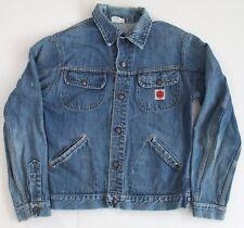 Vintage Gwg Kings Denim Jean Jacket Size 38 Large Snaps See Measurements