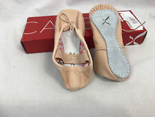 Capezio Girls Daisy Full Sole 205X Ballet Pink Shoes Toddler 6W, New in Box