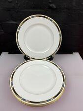 More details for 4 x royal worcester raffles dinner plates 27 cm wide set