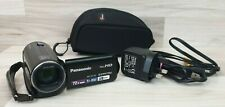 Panasonic Black HC-V110 Digital Camcorder 8.9MP 72x Zoom HD Video.