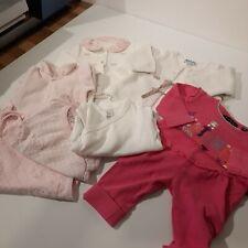 Bekleidungspaket Gr. 56 Baby Mädchen Girl 8-teilig Frühling  Herbst Winter