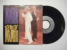 BARRY MANILOW with KID CREOLE : HEY MAMBO ♦ 45 TOURS PORT GRATUIT ♦