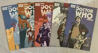 Doctor Who Clásicos #1 2 3 4 5 IDW Comics