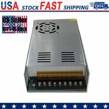 Ac 100v 240v To Dc 12v 30a Switch Power Supply Driver Adapter Led Strip Light Us