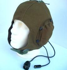 Original Soviet helmet noise-proof with aircraft headset ShShL-78A, 71/8 size