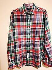 Designer Ralph Lauren Polo Men's Linen Shirt Large NEW