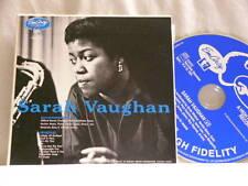 SARAH VAUGHAN Clifford Brown Roy Haynes Paul Quinichette Emarcy JAPAN CD