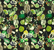 Designers Guild Fabric Soft Manaos Onyx velvet  FCL2273/01