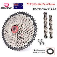 8 9 speed Derailleur MTB Bike Cycling Cassette KMC Chain Sprocket  CSM680//9909