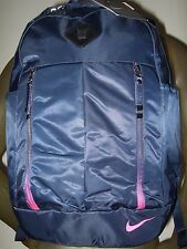 Adult Nike Sport Nylon Auralux Training School Backpack Book Bag & Laptop sleeve