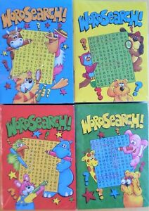 Junior Animal Puzzle Book 32 Pages Fun Word Search Puzzles Party Bag
