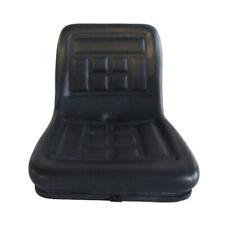 More details for tractor basic seat black skid steer dumper mower suspension seat sliding rails