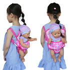 Handmade toys gift doll backpack girl early education accessories baby carrier