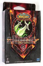 World Of Warcraft WOW TCG Class Starter Deck Orda GOBLIN LADRO NUOVO SIGILLATO