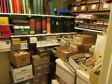 """""""TREASURE HUNT"""" WORLDWIDE - US BOX-LOT Unsearched Stamps, Pages, Covers & More!"""
