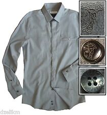 NWOT $355.00 Versace Collection Trend Fit Cotton Sport Shirt Size S or 38(US)