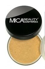 Mica Beauty Mineral 2x Foundations  mf5 cappuccino + mf4 honey