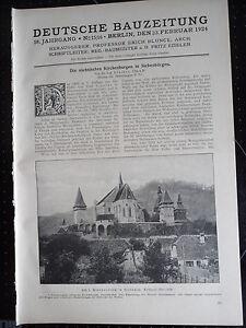 1924 Siebenbürgen Birthälm Felmern Probstdorf Buszd bei Mediasch Münster