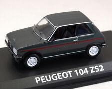 Peugeot 104, grau-Metallic, 3-türig, 1:43