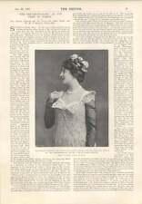 1901 Miss Miriam Clements In The Sentimentalist James Greig Humours Halloween