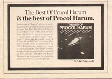 """1973 Procol Harum """"Best Of Procol Harum"""" Album Promo Ad"""