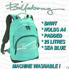 BILLABONG SEA BACKPACK UNISEX MENS WOMENS GIRLS BOYS RUCKSACK SCHOOL BAG