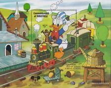 Dominica Bloque 95 Nuevo Con Goma Original 1984 Walt-disney-p completa Edición