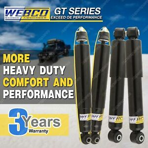4 HD Gas Webco Pro Shock Absorbers for FORD RANGER PJ PK 2WD 4WD UTE 07-11
