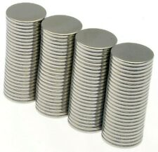 Strong Magnets ( 8mm x 0.75mm ) Very Thin * 0.25Kg PULL * Small Powerful Disc