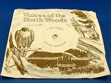 DAN GIBSON - Voices Of The North Woods (Various Loon Calls & more) w/PIC. SLEEVE