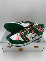 Nike Off White Sb Dunk Low Pine Green Uk14 US15