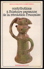 Contributions à l'histoire paysanne de la Révolution française. 1977.
