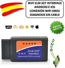 DIAGNOSIS ELM 327 ELM327 BLUETOOTH WIFI OBD2 OBDII WIFI IOS APPLE IPHONE ANDROID