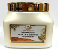 C&B Dead Sea Minerals Keratin Hair Mask With Pearl Powder Without Salt 500ml