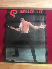 Vintage Bruce Lee Enter The Dragon Poster IN VGC RARE Free Shipping!