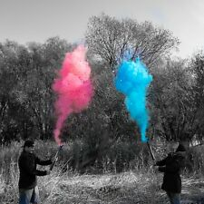 4 Pack Gender Reveal Confetti/Smoke Cannon Fast Shipping, Pink/Blue Party Supply