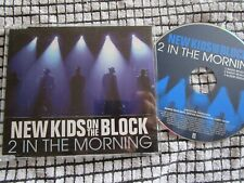 New Kids On The Block 2 In The Morning Promo Interscope Recs NKMORCDP1 CD Single