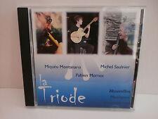 LA TRIODE ( MONTANARO / SAULNIER / MORNET ) Nouvelles musiques improvisées AUTOP