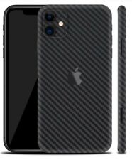 iPhone 11 black carbon skin
