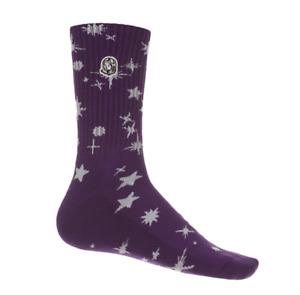 Billionaire Boys Club BB Star Sock 811-3807 Amaranth Purple 2021 Brand New