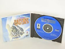 BURNING SOLDIER Item Ref/ccc 3DO Real Panasonic Import Japan Game 3d