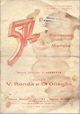 514 ( Corvetto - V. Renda, D. Oneglio ) # SPARTITO - dedicato al Sen. G. Agnelli