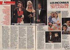 Coupure de presse Clipping 1991 Les Inconnus les rois du rire  (4 pages)