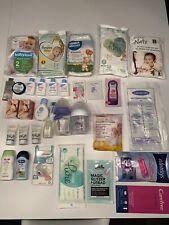 Mama & Baby pflege Paket Sebamed Hipp Pampers Lansinoh Lillydoo Avent