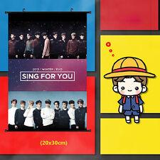 EXO SING FOR YOU CHANYEOL BAEKHYUN SEHUN SMALL POSTER KPOP NEW XHB001