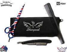 Pro Sharpend Hair Cutting Razor Barber pole Shears Hairdressing Scissors New