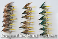 18 Wet Fly Fishing Kate McLaren,Invicta  & Olive Bumble by Dragonflies