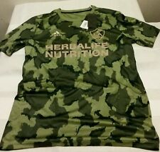 Men's MLS Adidas LA GALAXY Camo Prematch Jersey Shirt Size M