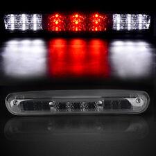 for 07-13 Chevy Silverado LED Smoke Rear 3rd Third Stop Brake Light Cargo Lamp
